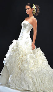 Professional Wedding Dress Cleaning and Presevation
